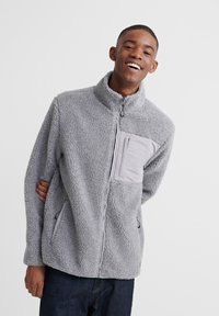 Superdry - Fleece jacket - grey - 0