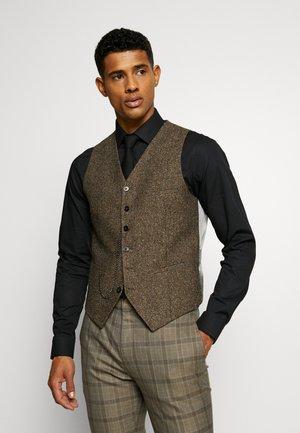 BARAH WAISTCOAT - Waistcoat - brown
