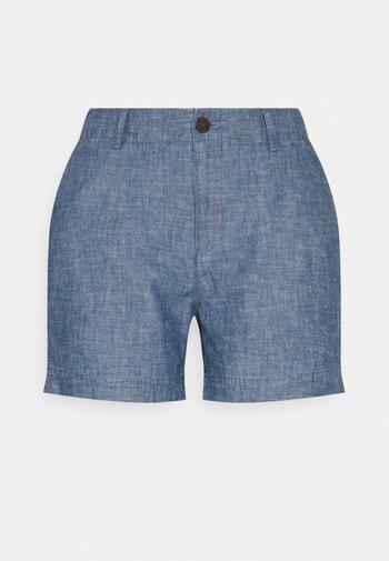 Shorts - indigo chambray