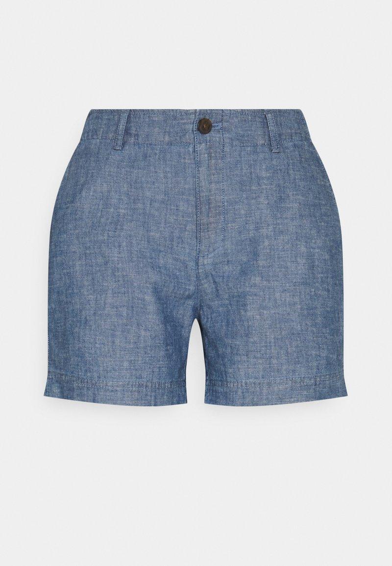 GAP Petite - Shorts - indigo chambray