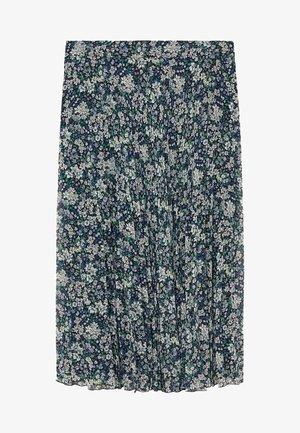 PARADIS - A-line skirt - blau