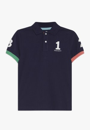 NUMBER  - Polo - navy