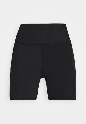 LIFESTYLE POCKET BIKE SHORT - Leggings - black