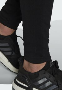 adidas Performance - ADIDAS SPORTSWEAR RIBBED INSERT TRACKSUIT - Survêtement - black - 5