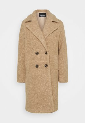 PCSALLIE COAT  - Manteau classique - natural