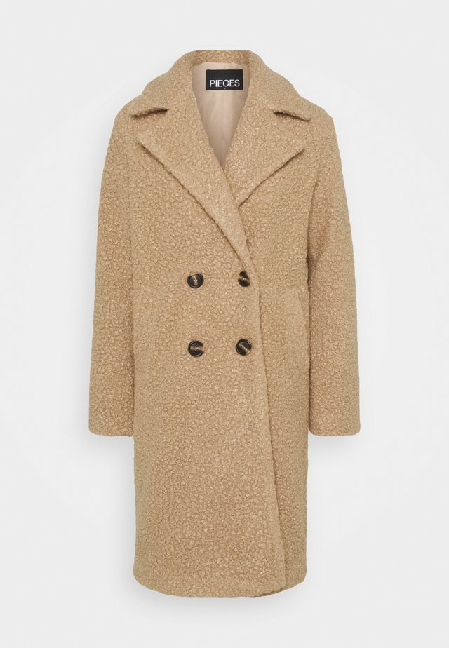 PCSALLIE COAT  - Abrigo - natural