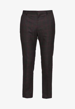 HERITAGE CHECK - Kalhoty - grey