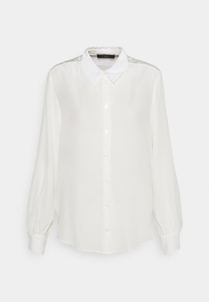 ASSUAN - Button-down blouse - weiss