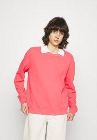 Ecoalf - BASIC WOMAN - Sweatshirt - fucsia - 0