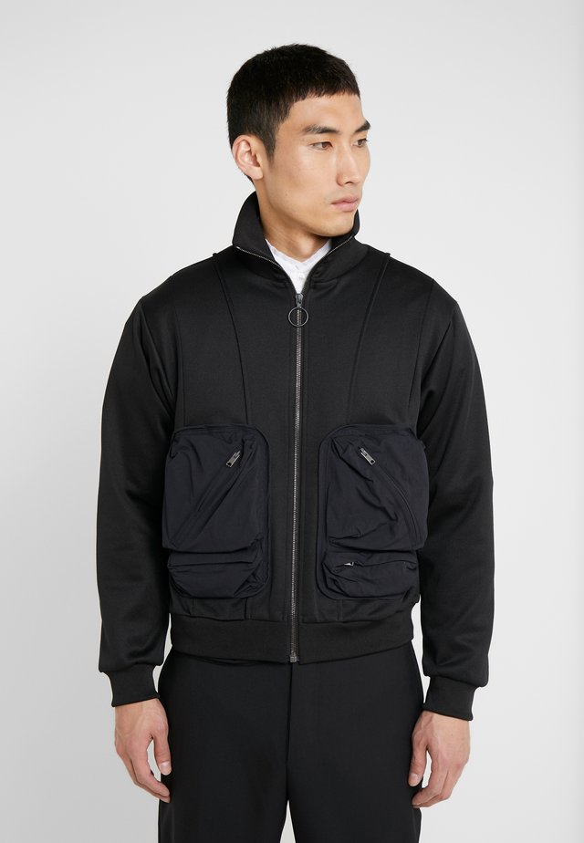 WASPER ZIPPED - Summer jacket - black