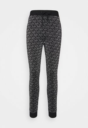 Tracksuit bottoms - black/silver