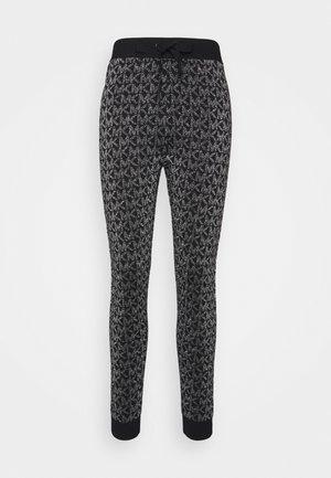 Teplákové kalhoty - black/silver