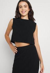 Noisy May - NMANKER SET - Shift dress - black - 3