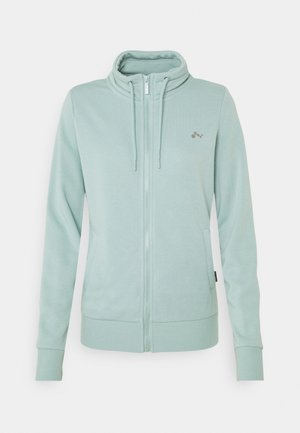 ONPELINA HIGH NECK - Zip-up hoodie - gray mist