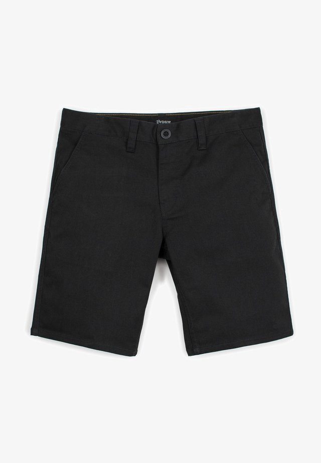 HEMMED - Shorts - black