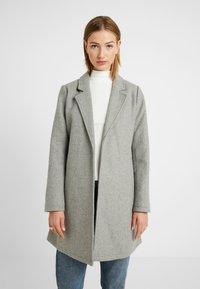 Springfield - ABRIGO PAÑO CINTURON - Short coat - grey - 0