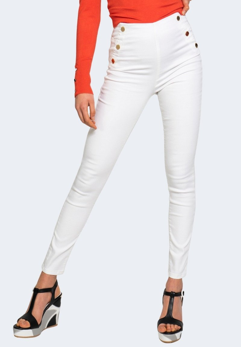 Guess - Jeans Skinny Fit - white