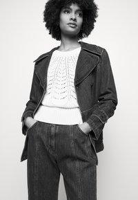Alberta Ferretti - JACKET - Denim jacket - blue - 4