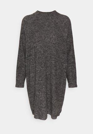 VMTAMMI HIGH NECK  - Strikket kjole - dark grey melange