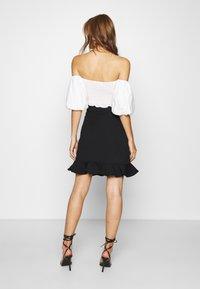 DAY Birger et Mikkelsen - CIKADE - A-line skirt - black - 2