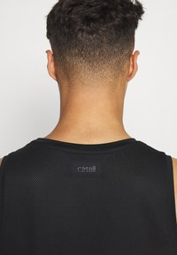 Casall - STRUCTURED TANK - Top - black - 4