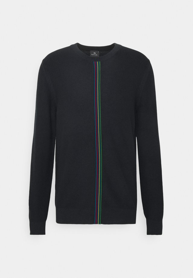 Pullover - black, multi-coloured