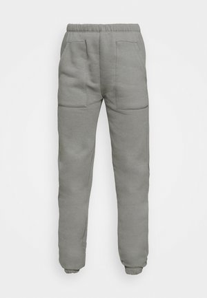 COZY POCKET PANTS - Tracksuit bottoms - greige