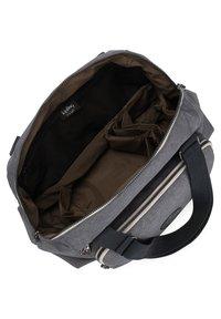 Kipling - PEPPERY LENEXA - Handbag - charcoal - 3