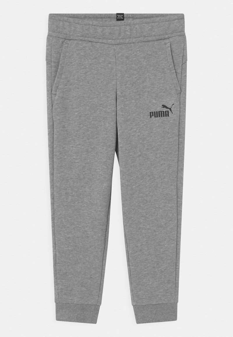 Puma - LOGO PANTS UNISEX - Pantalon de survêtement - medium gray heather