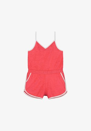 Jumpsuit - fluo red