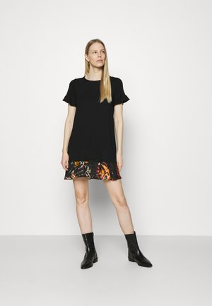 KALI - Jersey dress - black