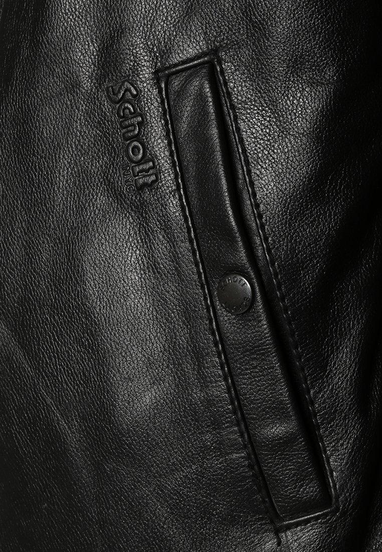 Schott Skinnjakke - black