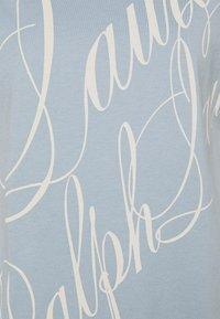 Lauren Ralph Lauren - UPTOWN - Print T-shirt - dust blue - 2
