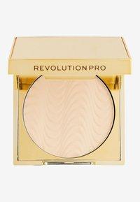 Revolution PRO - CC PERFECTING PRESSED POWDER - Powder - beige - 1