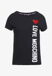 Love Moschino - Printtipaita - black - 3