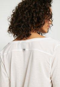G-Star - GYRE UTILITY V-NECK LONG SLEEVE T-SHIRT - Long sleeved top - milk - 3