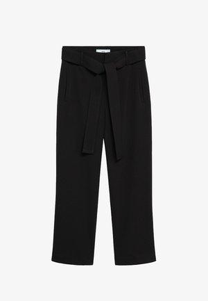 FLOREN - Kalhoty - black