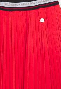 BOSS Kidswear - SKIRT - A-line skirt - red - 2