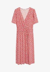 Violeta by Mango - CROSS - Day dress - geranienrosa - 4