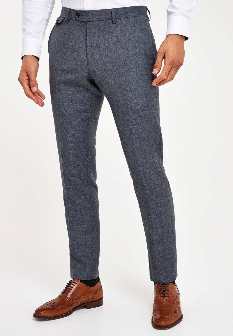 Next - Suit trousers - light blue