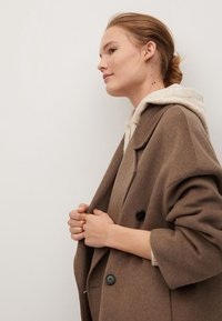 Mango - PICAROL - Classic coat - medium brown - 4
