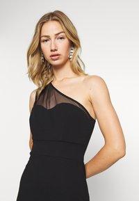 WAL G. - ONE SHOULDER MAXI DRESS - Vestido de fiesta - black - 3