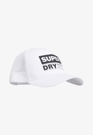 SUPERDRY SPORTS CAP - Cap - white
