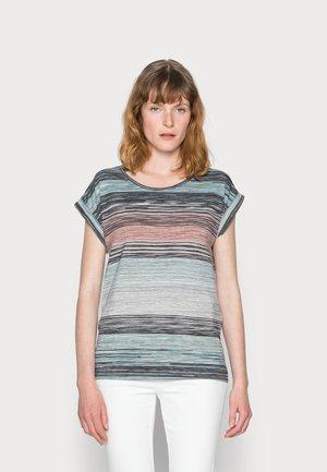 GALINA - Print T-shirt - cloud green combi