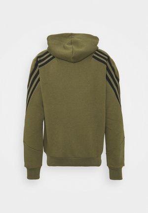 WINTER FULL ZIP FUTURE ICONS - Zip-up sweatshirt - focus olive