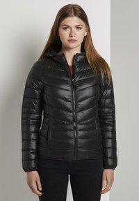 TOM TAILOR DENIM - LIGHT PADDED JACKET - Light jacket - deep black - 0
