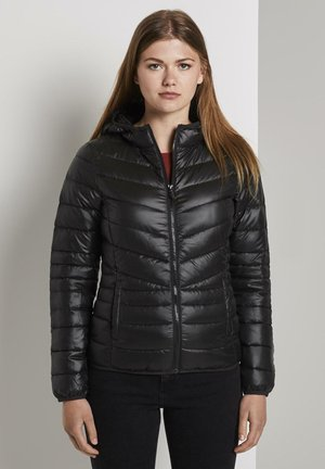 LIGHT PADDED JACKET - Light jacket - deep black