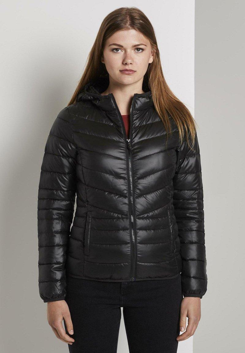 TOM TAILOR DENIM - LIGHT PADDED JACKET - Light jacket - deep black