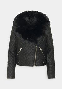 River Island - Faux leather jacket - black - 0