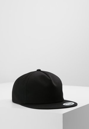 UNSTRUCTURED 5-PANEL SNAPBACK - Lippalakki - black